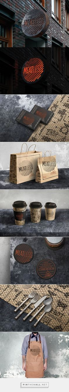 MEATLESS Restaurant Branding by Bureau Bumblebee | Fivestar Branding Agency – Design and Branding Agency & Curated Inspiration Gallery