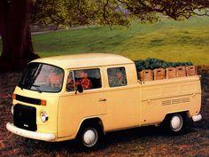 Volkswagen T2 Double Cabine Pickup '1982–????                                                                                                                                                                                 Mais