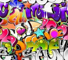 Graffiti urban art powerpoint template is one of the best powerpoint graffiti urban art background seamless design photo toneelgroepblik Image collections