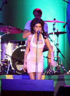 Amy Winehouses comeback concert