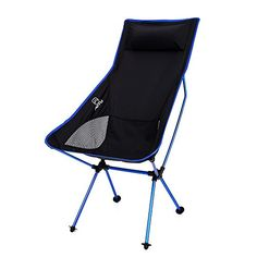 Docooler Ultra Lightweight Folding Portable Outdoor Camping Hiking Fishing Chair Lounger Chair ** Read more reviews of the product by visiting the link on the image.