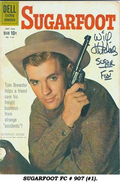 Sugarfoot is an American Western series that aired on ABC from 1957 to The series stars Will Hutchins as the fledgling frontier lawyer from Oklahoma Territory, Old Comic Books, Vintage Comic Books, Vintage Comics, Comic Book Covers, Star Comics, Old Comics, Cultura General, Western Comics, Tv Westerns