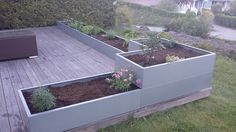 Outdoor Ideas, Outdoor Spaces, Vegetable Gardening, Garden Inspiration, Deck, Exterior, Vegetables, Plants, Design
