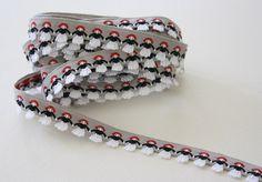 Vintage gray/red/black cotton fringed ribbon trim-3.5 yards, $10.00