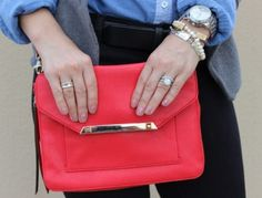 Today's all about accessories and pops of vibrant colors on Pretty In Her Pearls blog post.