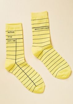 Periodical Perfection Socks in S by ModCloth