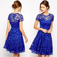 Dresses New models of Lace dress pattern. I hope my effort of compiling the finest comfortable Lace dress pattern Shop the hottest and latest Blue Lace Prom Dress, Short Lace Dress, Short Sleeve Dresses, Short Sleeves, Lace Dresses, Dress Black, Lace Dress Pattern, Formal Dress Patterns, Frock Design