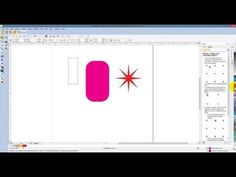 BERNINA Embroidery Software 7 - Tool Tip - Basic Shapes - YouTube