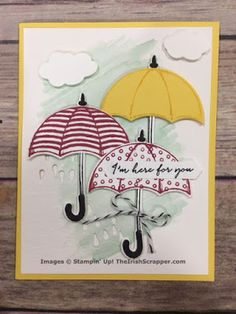 The Irish Scrapper: Stampin' Up! Weather Together