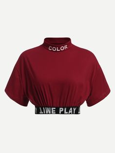 Tee -Slogan Print Crop Tee - Ribbon Lace Up Jumper by Ivy Park - Topshop USA black_star Crop Top Outfits, Edgy Outfits, Mode Outfits, Grunge Outfits, Cute Casual Outfits, Girls Fashion Clothes, Teen Fashion Outfits, Cute Fashion, Girl Outfits