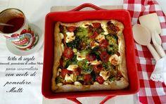 MATRIMONIO IN CUCINA: Torta tricolore con porro caramellato all'aceto di...