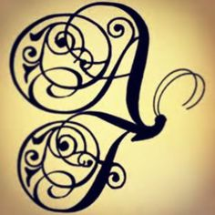Tattoo #3, this has a A and F, I will have a A  and J (for Aubrie and Judson). Yay super excited. #tattoo #monogram #butterfly #family