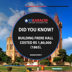 Karachi Fact No - 5 #BeKarachi #KarachiInterestingFacts