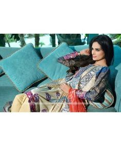 HSY Pakistani Clothes Designer Lawn Collection 2015