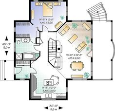 Vistas 1 1143 - 2 Bedrooms and 2 Baths | The House Designers