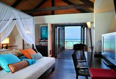 Amazing island and resorts