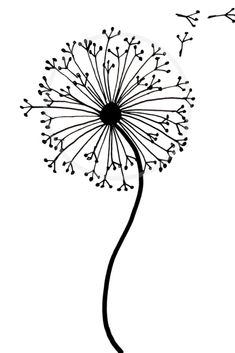 Easy how to draw a dandelion tutorial with our step by step dandelion drawing. This dandelion doodle is perfect for art journals, bullet journals and more. Art How to draw a dandelion: Easy dandelion drawing step by step tutorial Easy Drawing Tutorial, Easy Drawing Steps, Step By Step Drawing, How To Draw Flowers Step By Step, Drawing Tutorials, Easy To Draw Flowers, Drawing Ideas, Cute Easy Drawings, Cool Art Drawings