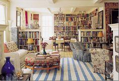 Carolina Irving's NYC apartment. Via cote de texas blog. Stunning!