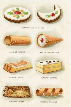 Almond Pastries 1920s