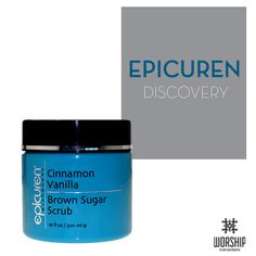 #EpicurenDiscovery : Have your skin looking, feeling and smelling heavenly with this Cinnamon Vanilla Brown Sugar Scrub, available at #Worship Salon!