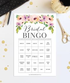 Bridal Shower Games https://www.etsy.com/listing/461137432/76-bridal-shower-bingo-games-wedding
