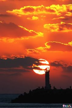 Sunset,AnHeung Port,Korea by by José Choi