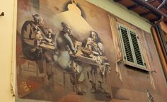 The many wall paintings in Dozza are wonderful.  http://solotravelerblog.com/road-trip-the-backroads-of-emilia-romagna-italy/