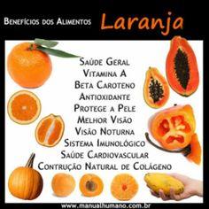 Benefícios dos alimentos laranja