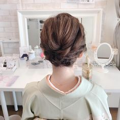 Prom Makeup Looks, Hair Arrange, Smooth Hair, How To Feel Beautiful, How To Memorize Things, Braids, How Are You Feeling, Beauty, Japan Woman