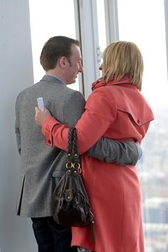 Valentines Day proposal at The View from The Shard