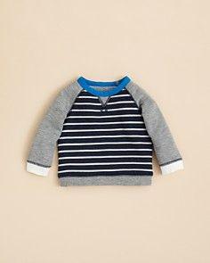 Bloomie s Boys  Stripe Sweatshirt - Sizes 2-4T Boys Designer Clothes 812fb596a