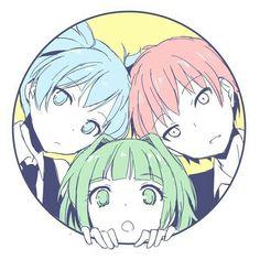 Kaede Kayano,Karma Akabane and Nagisa Shiota Anime Meme, Manga Anime, Anime Art, Fanart, Nagisa X Kayano, Classroom Memes, Koro Sensei, Nagisa Shiota, Nagisa And Karma