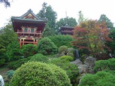 San Fran Japanese Tea Garden, California