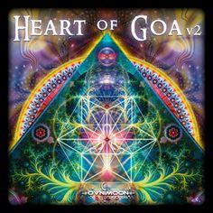 VA - Heart of Goa Vol 2 (Ovnimoon Records - cover Goa, Fractal Art, Fractals, Art Visionnaire, Psychedelic Music, Psy Art, Shops, Mystique, Visionary Art