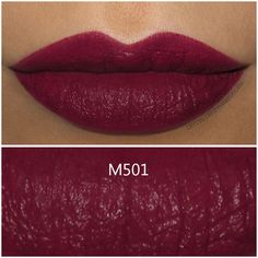 Make Up For Ever Artist Rouge Mat Lipstick in M501 - Review and Swatches