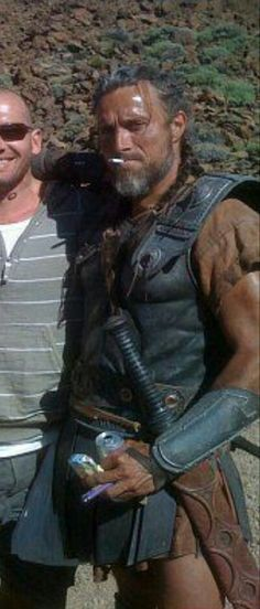Mads on The Clash of The Titans set