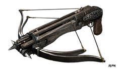 Hand crossbow