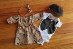 For Erin Call Only Christmas Holiday Boy / girl Baby Twin Dress up Matching Sibling Outfits Photo Props