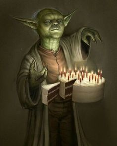 24 Cool Yoda of StarWars Illustrations - Happy Birthday Funny - Funny Birthday meme - - Your Birthday it is. The post 24 Cool Yoda of StarWars Illustrations appeared first on Gag Dad. Happy Birthday Quotes For Friends, Happy Birthday Funny, Happy Birthday Images, Happy Birthday Greetings, Birthday Pictures, Birthday Messages, Birthday Memes, Funny Happy, Aniversario Star Wars