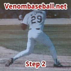 "This is Fred Mcgriff who had 10 30-homer seasons and 8 100-RBI seasons. Notice his Step 2 Position in the ""3 Steps to a Major League Swing."" The key to Step 2 is being capable of rotating the lower half before the hands break. My students hear me all the time repeating ""feet, hips, and swing in that order"" www.venombaseball.net"