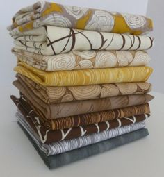 Woodn't It Be Lovely Fat Quarter Bundle by sewmeasong on Etsy, $28.50
