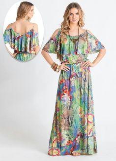 vestido ciganinha babado - Google Search