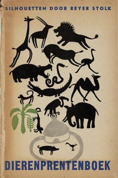 livre hollandais dutch book vintage illustration