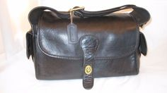 Coach Vintage Bonnie Cashin Black Haversack Handbag - Circa 1973 - Refurbish | Clothing, Shoes & Accessories, Women's Handbags & Bags, Handbags & Purses | eBay!