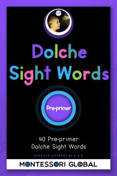 A collection of Pre- Primer Dolche High Frequency Words in the following formats:Posters, Montessori sight word reading cards, PowerPoint flash cards #Dolche #Sight Words #Spelling Lists #Posters #PowerPoint Flash Cards #High Frequency Word #reading cards #pre-primer  #Montessori #early literacy #foundational skills #reading strategies #vocabulary