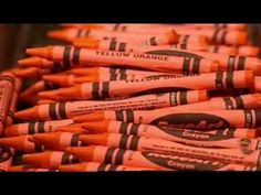 How it's made: Crayons - I watched this with her over and over again ... this and the bubble gum one ...