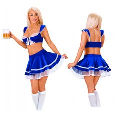 Roxona Sexy Beer Wench in Blue