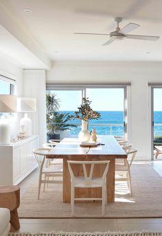 Beach Apartment Decor, Apartment Interior, Beach House Decor, Beach House Interiors, House Near Beach, Beach Condo, Australian Interior Design, Home Interior Design, Dream Beach Houses