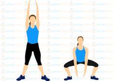 Jeden cvik, kterým posíláš zadek, vnitřní stranu stehen, ruce i bříško | Blog | Online Fitness Phan, Pilates, Athletic Tank Tops, Health, Sports, Blog, Women, Diet, Pop Pilates