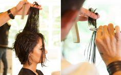 Transformação: chanel desfiado de Andreia Horta deixa o visual moderninho - Beleza - UOL Mulher
